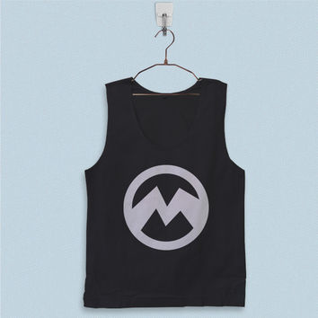 Men's Basic Tank Top - Evil Minions Logo