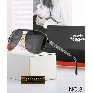Hermes men and women fashion trend s polarized sunglasses F-A-SDYJ NO.3
