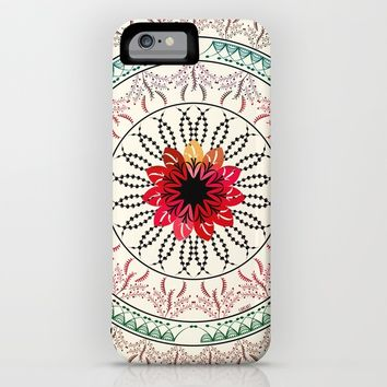 Mandala iPhone & iPod Case by Famenxt