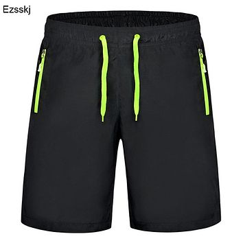 Men Casual Shorts Boy Summer Beach Boardshorts Casual Zipper Pocket Shorts Homme Clothing Big Plus Size 6XL 7XL 8XL 9XL