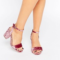 ASOS HERON Wide Fit Heeled Sandals