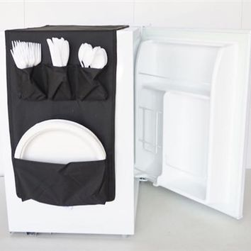 Cookin Caddy - Over the Fridge Storage Organizer Dorm Room Storage