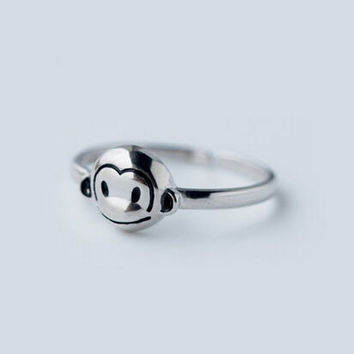 Jewelry New Arrival Shiny Gift 925 Silver Stylish Korean Accessory Ring [8380585415]