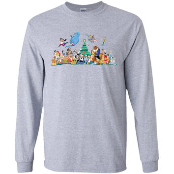 disney-christmas-clipart-mais-alguns-cliparts-variados-wydGMm-clipart-01  G240 Gildan LS Ultra Cotton T-Shirt
