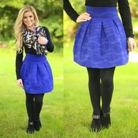 The Bold & The Beautiful Skirt in Blue
