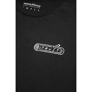 Trust Log Shirt Unisex Black