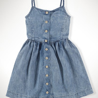 Cotton Denim Sundress