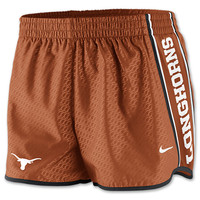 Women's Nike Texas Longhorns College Chainmaille Pacer Shorts