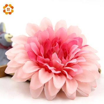 Colorful Silk Artificial Flowers Home Corsage Decoration