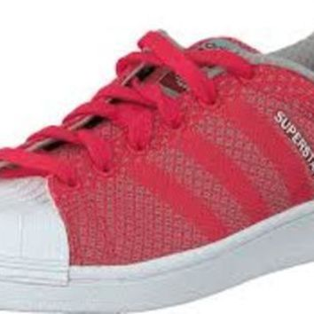 Adidas Superstar Weave Pack  Classic Basketball~ Tomato/Tomato/FtWWht Originals