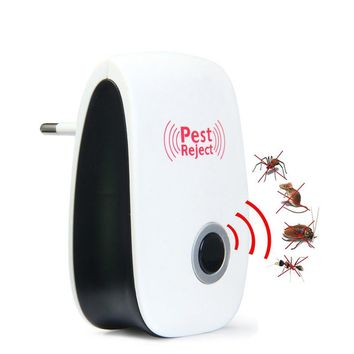 UA US EU Plug Ultrasonic Insect Repellent Electronic Indoor Insect Repellent Repeller Home Repellent Insecticide Bug Insecticide