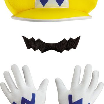 Costume Accessory: Wario Kit - Child - 1 Units