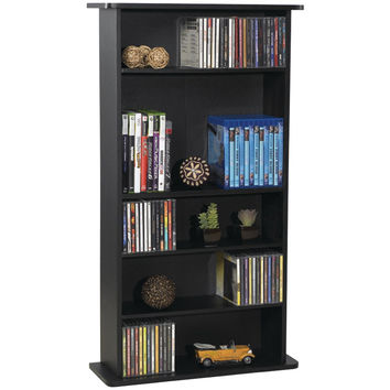 Atlantic Drawbridge Cd & Dvd Multimedia Cabinet
