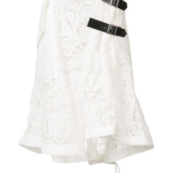 Sacai Lace Embroidered Skirt - Farfetch