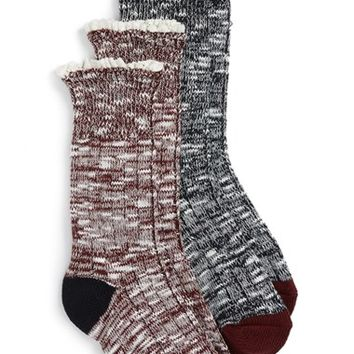 Tucker + Tate 2-Pack Marled Socks (Toddler, Little Kid & Big Kid) | Nordstrom