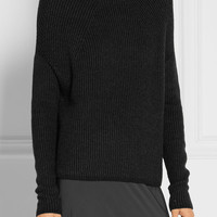 Rick Owens - Crater ribbed cashmere-blend sweater