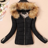 new 2014 Outerwear Women coat Winter Down Jacket down casual winter jacket women Size XL XXXXL parka womens-in Down & Parkas from Apparel & Accessories on Aliexpress.com | Alibaba Group