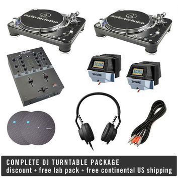Pioneer: Complete Scratch DJ Turntable Package