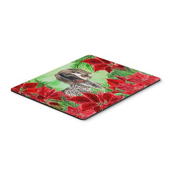 German Shorthaired Pointer Poinsettas Mouse Pad, Hot Pad or Trivet CK1290MP