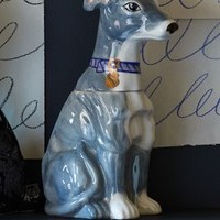 Pedigreed Cookie Jar, Greyhound by Anthropologie Grey One Size Kitchen