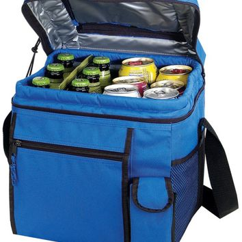 24 Pack Cooler with Easy Top Access and Cell Phone Pocket [Royal]