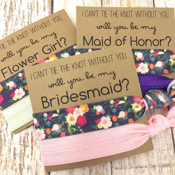 Will you be my Bridesmaid | | To have and to hold your hair back
