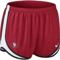 Nike Women's San Francisco 49ers Red Tempo Short - Dick's Sporting Goods