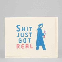 Seas And Peas Just Got Real Graduation Card- Assorted One