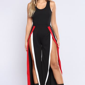 Rooftop Bar Jumpsuit - Black