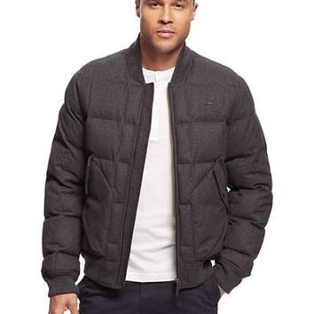 Lacoste Quilted Bomber Jacket