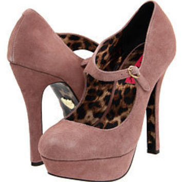 Betsey Johnson Mareyy Blush Suede - 6pm.com
