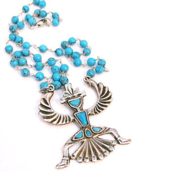 60% OFFNative American Inspired Necklace by colorsoulartistry