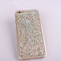 Real glitter for iPhone 4s Case