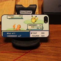 Pokemon Battle / Pikachu / Charmander / Game boy / Apple Iphone 5 Case