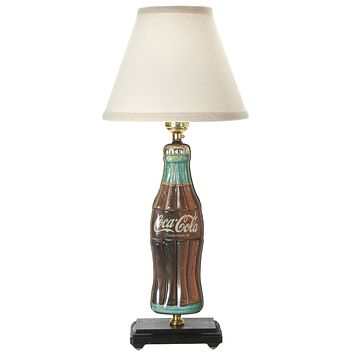 Vintage Coke Bottle Tin Hand Crafted Lamp
