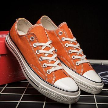 Converse Casual Sport Shoes Sneakers Shoes Orange I