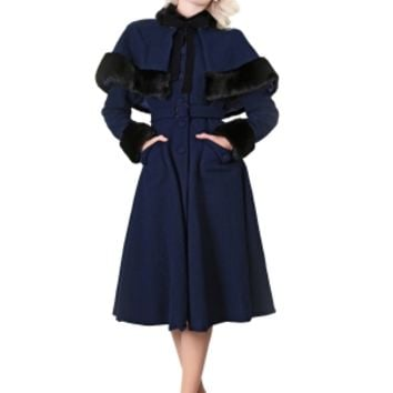 Anastasia Coat & Cape