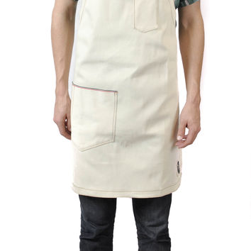 The Jack Selvedge Denim Apron (Natural)