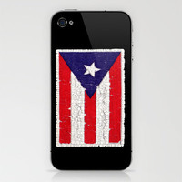 Puerto Rican flag iPhone & iPod Skin by Bruce Stanfield | Society6