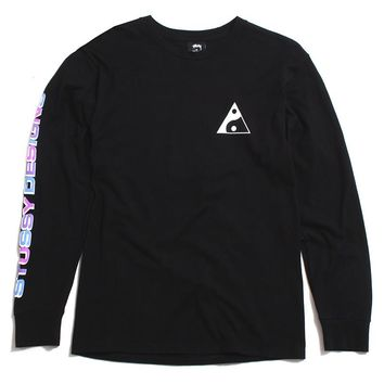 Stussy Designs Longsleeve T-Shirt Black