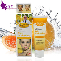 Dexe Skin Lightening & Whitening cream  vitamin C  Effective Safer Bleaching Substitute to Hydroquinone for Even Skin Tone