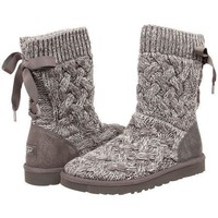 UGG female fashion wool snow boots wool shoes-5