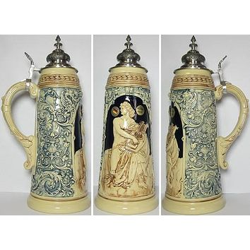 2 Liter Limitaet Apollo German Stein
