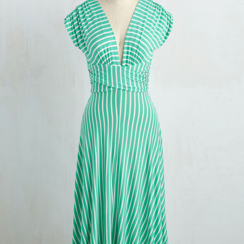 Sun-soaked Afternoon Dress in Spearmint | Mod Retro Vintage Dresses | ModCloth.com