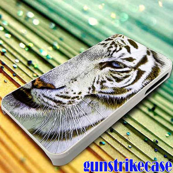 Blue Eyed Tiger for iPhone, iPod, Samsung Galaxy, HTC One, Nexus **