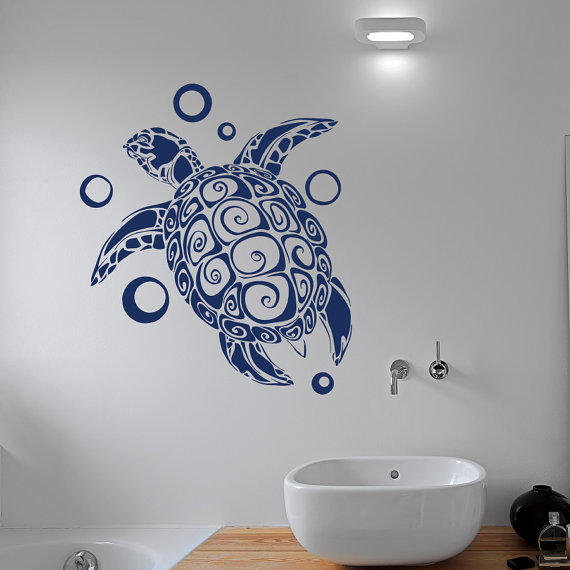 shop turtle bathroom decor on wanelo, Home decor