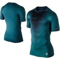 Nike Men's Pro Core 2.0 Fade Compression Short Sleeve Shirt