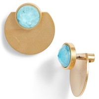 kate spade new york sunshine stones ear jackets | Nordstrom