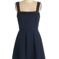 ModCloth Short Length Tank top (2 thick straps) A-line Outdoor Celebration Dress