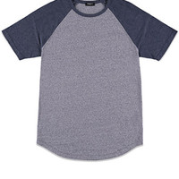 Heathered Raglan Tee